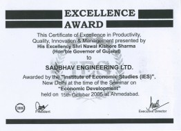 Excellence Award by Institute of Economic Studies