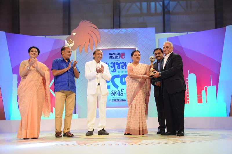 CNBC Bajar Gujarat Ratna Award for the year 2015-16